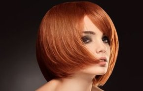 фотография Окрашивание средних волос